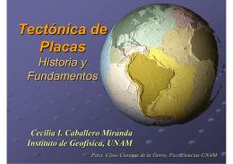 Tectónica Placas: Historia y Fundamentos