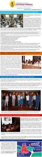 """Miércoles de Salud Pública: """"Salud Global en el Siglo XXI – Dr. Paul"""
