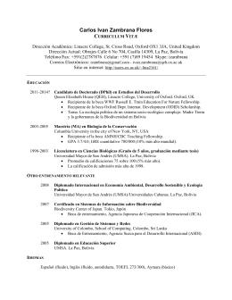 CV IZF - Oxford University computer users web server