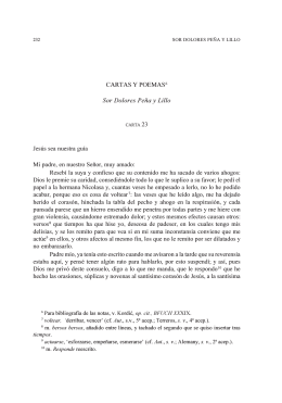 Cartas y poemas. - Anales de Literatura Chilena