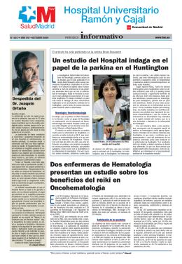 Octubre 2009 - Hospital Ramon Cajal
