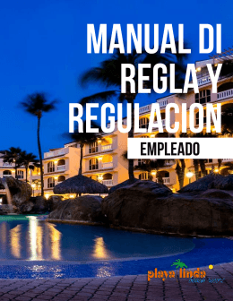 MANUAL DI RELGA Y REGULACION | 1