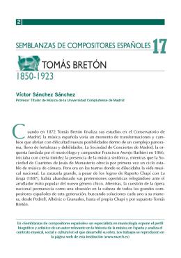 TOMÁS BRETÓN 1850-1923