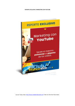 Introducción al Marketing con Videos