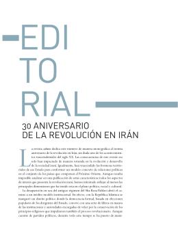 30 ANIVERSARIO DE LA REVOLUCIÓN EN IRÁN