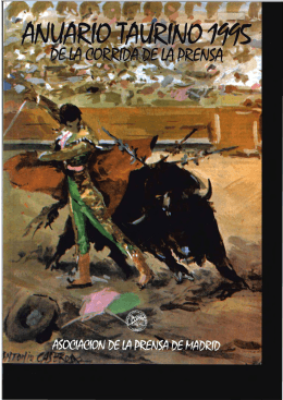 Anuario Taurino 1995 de la Corrida de la Prensa Parte I.