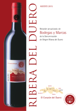 Relación de Bodegas y Marcas - Agosto 2015