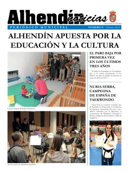 ALHENDÍN APUESTA POR LA EDUCACIÓN Y LA CULTURA