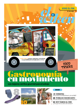 FOOD TRUCKS - Reporte Indigo