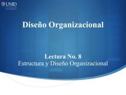 5 Estructura divisional - UNID
