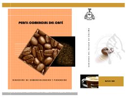 perfil comercial del café - SECRETARIA DE DESARROLLO RURAL.