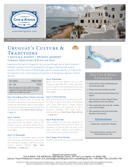 Uruguay`s Culture & Traditions