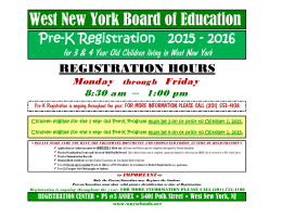 West New York Board of Education