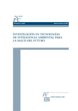 Investigación en tecnologías de inteligencia ambiental
