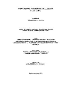 universidad politécnica salesiana sede quito - Repositorio Digital-UPS
