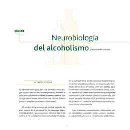 Neurobiología del alcoholismo