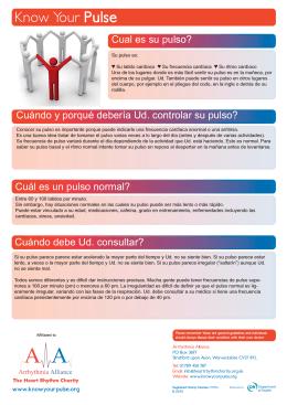 AA - A4 Uruguay Pulse Check.indd - Arrhythmia Alliance International