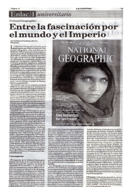 National Geographic Magazine: una empresa periodística entre la