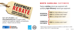 NORTHCAROLINACUS TO MERS Replace existing natural gas