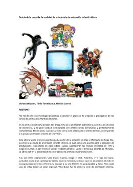 Detras de la pantalla - Red Infancia & Comunicación