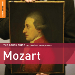 Mozart - World Music Network