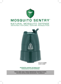 DEFENSA NATURAL CONTRA MOSQUITOS
