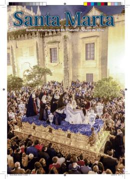 Boletín Informativo nº 88 – Sevilla – Marzo de 2014