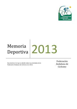 MEMORIA DEPORTIVA 2013-final4