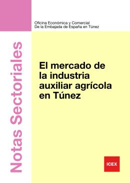 TÚNEZ Mercado Industrial Auxiliar Agricola