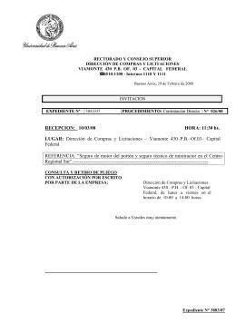 Dirección de Compras y Licitaciones