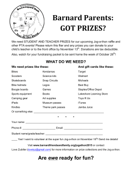 Barnard Parents: GOT PRIZES?