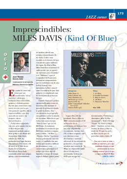 Imprescindibles: MILES DAVIS (Kind Of Blue)