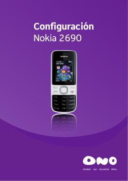 Configuración Nokia 2690