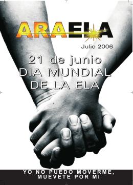 Boletín Julio 2006 - ARAELA. Asociacion Aragonesa de Esclerosis