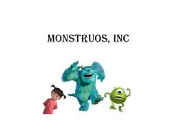 Monstruos, Inc