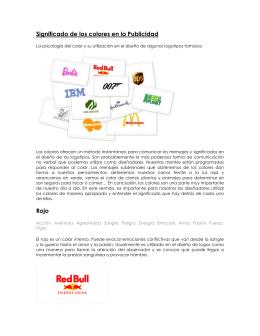 Significado de los colores en la Publicidad Rojo