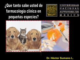 Que tanto sabe usted de farmacología clínica en