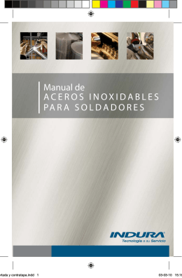Manual de Aceros Inoxidables para Soldadores