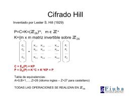 Cifrado Hill
