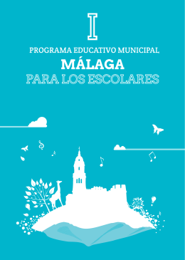Programa Málaga para los Escolares