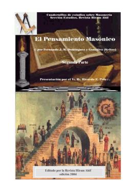 El Pensamiento Masónico 2