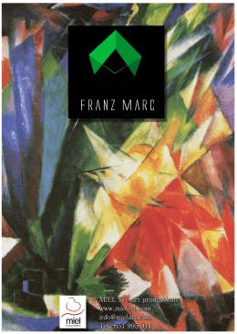 Franz Marc MIEL live art