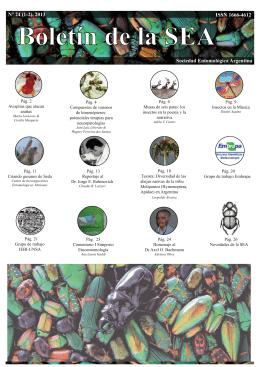 boletin definitivo 05-10-2913.ai - Sociedad Entomológica Argentina