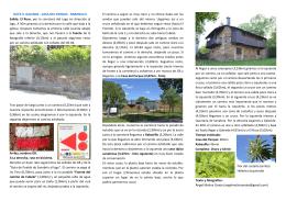 RUTA 3: GALENDE - CASA DEL PARQUE