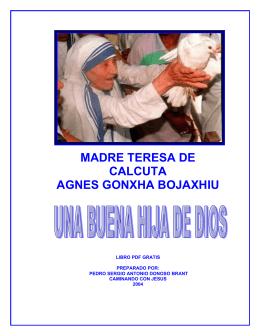 madre teresa de calcuta agnes gonxha bojaxhiu