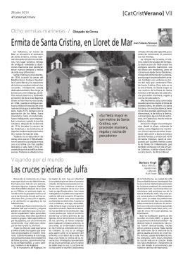 Ermita de Santa Cristina, en Lloret de Mar