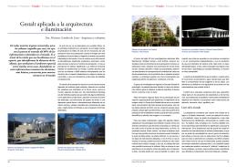 Gestalt aplicada a la arquitectura e iluminación