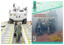 01_Revista LEGIO - Biblioteca Virtual de Defensa