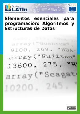 Estructuras de datos: archivos
