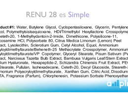 RENU 28 es Simple - ATeamSupport.com